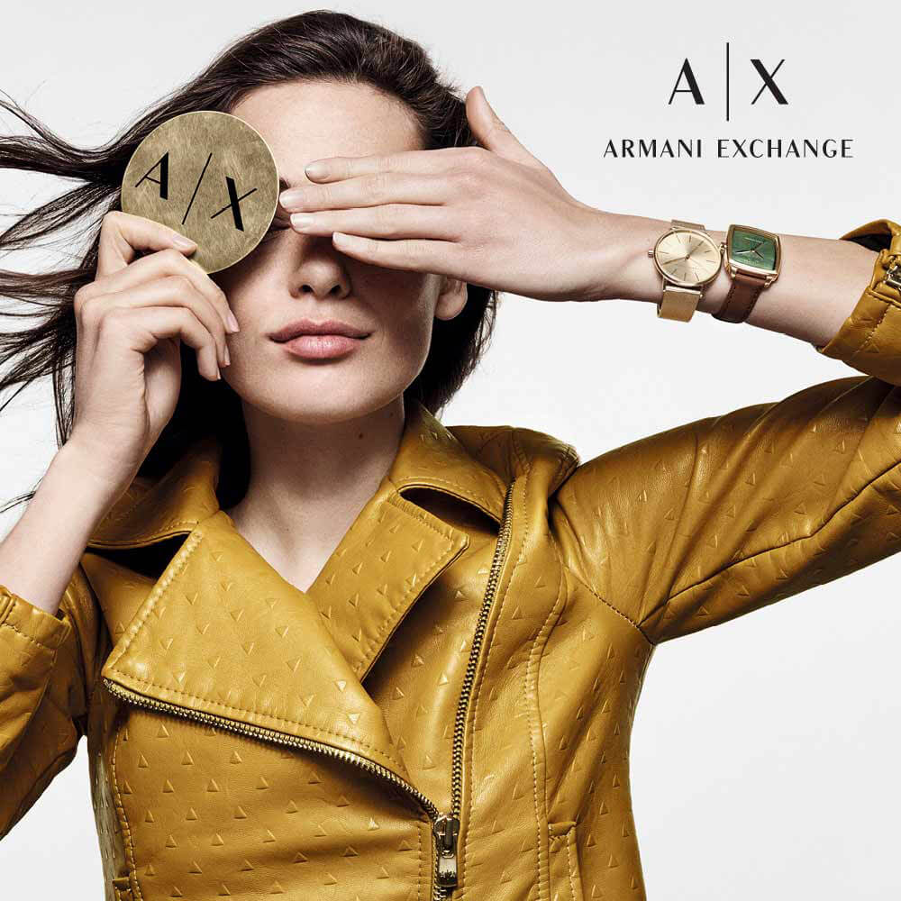 Armani Exchange Inspiration blog