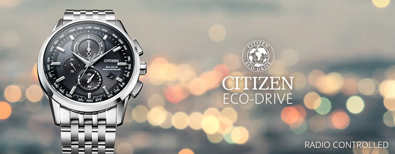 Relojes Citizen Radio Controlled
