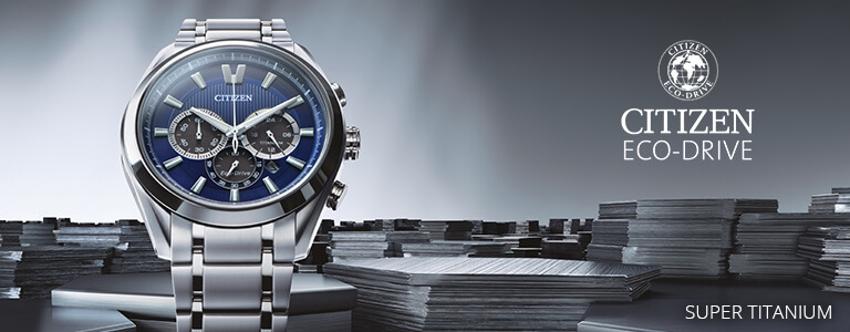 Relojes Citizen Super Titanium