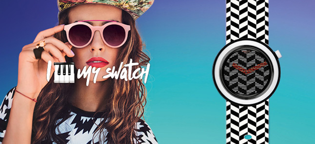 Relojes Swatch Mosaici More