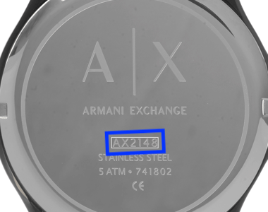 Correas para relojes Armani Exchange