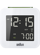 BNC008WHWH Digital Alarm Clock