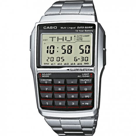 Casio Databank Calculator Reloj