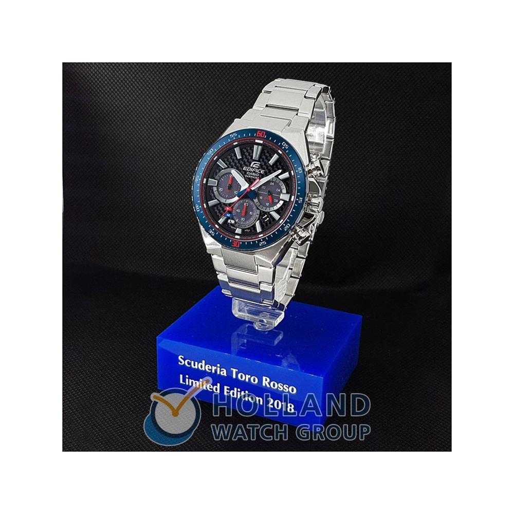 cb5e6a8b0fbb Reloj Solar edición limitada con esfera de fibra de carbon Colección  Primavera-Verano Casio Edifice