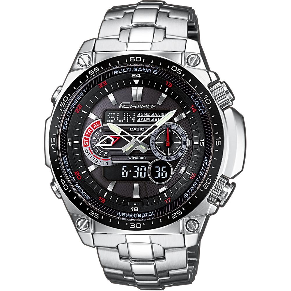 69d6cb441f74 Reloj Casio Edifice ECW-M300EDB-1AER Solar Wave Ceptor • EAN ...