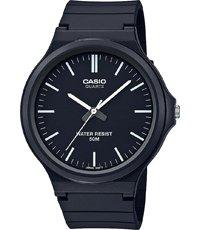 6mm Casio Reloj Para Color Cuarzo Negro Men Caballero Collection 43 De dsQthr