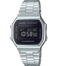 baratas para descuento 9d2d9 b1053 Retro Mirror 36.3mm Reloj digital plateado