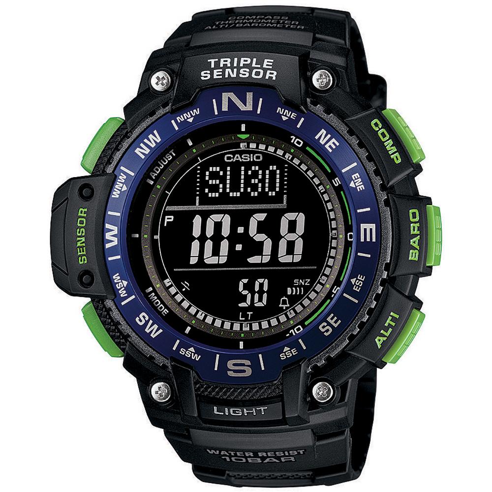 5ba57785a4f6 Reloj Casio Deporte SGW-1000-2BER • EAN  4971850035589 • Reloj.es
