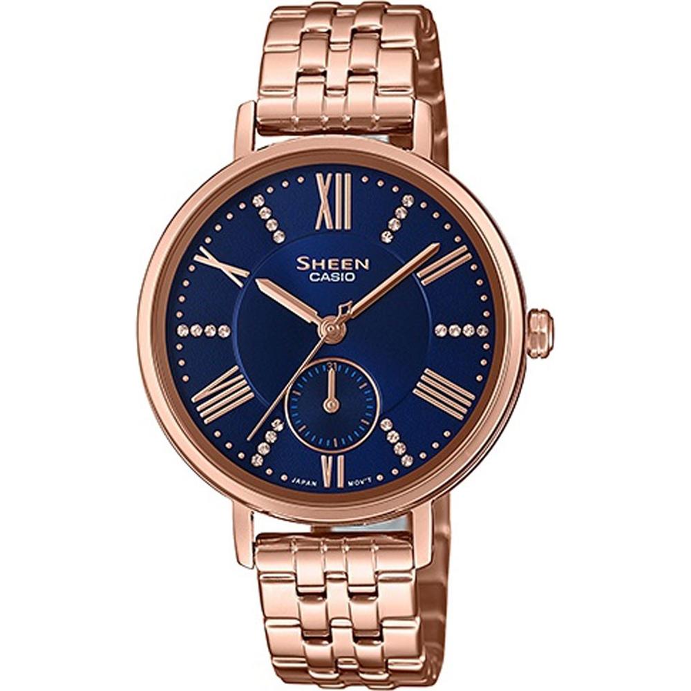 142398f5e3fe Reloj Casio SHE-3066PG-2AUEF SHEEN Classic • EAN  4549526213595 ...