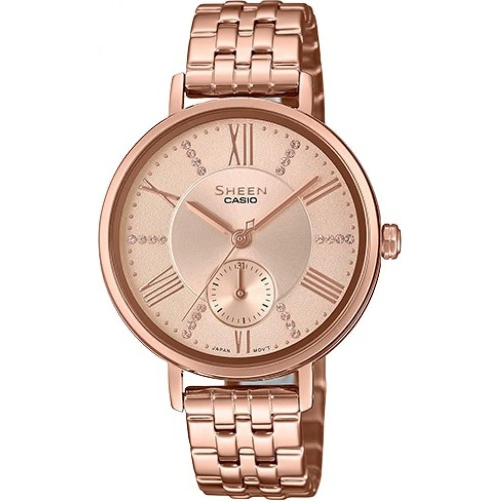92869f886ed1 Reloj Casio Sheen SHE-3066PG-4AUEF SHEEN Classic • EAN ...