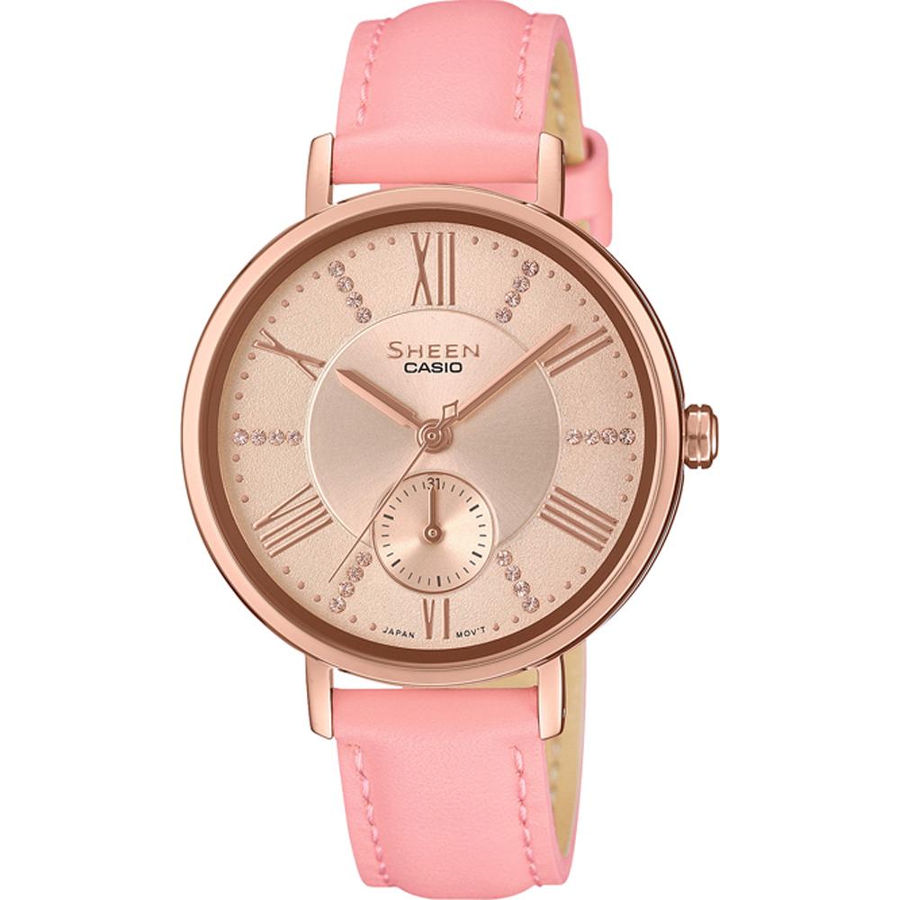 cfa0b4728ca4 Reloj Casio Sheen SHE-3066PGL-4AUEF SHEEN Classic • EAN ...