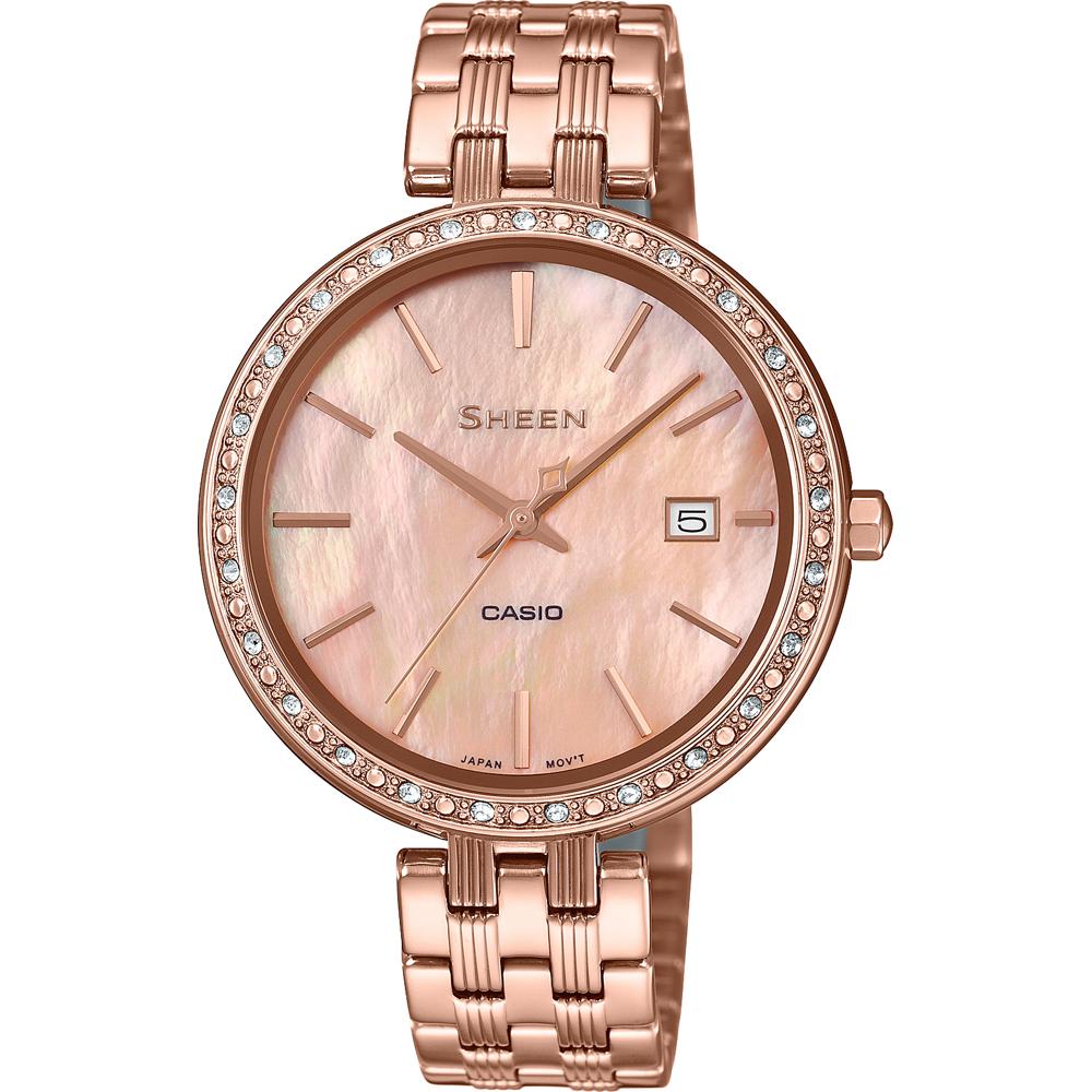 0128b924a84e Reloj Casio Sheen SHE-4052PG-4AUEF SHEEN Classic • EAN ...