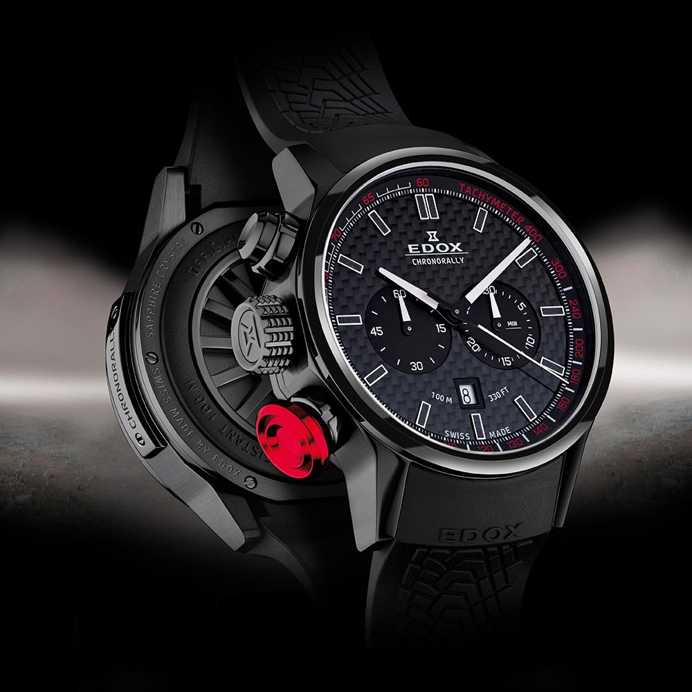 0da0cd230426 Reloj Edox Chrono Rally 10302-37N-NIN Chronorally • EAN ...