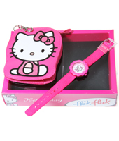 FLS016 Hello Kitty - Pink Set