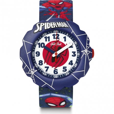 Flik Flak Spider-Man In Action Reloj