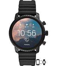 mitad de descuento 44f31 80c06 Q Explorist 45mm Reloj inteligente con pantalla táctil y correa de silicona  - Gen4