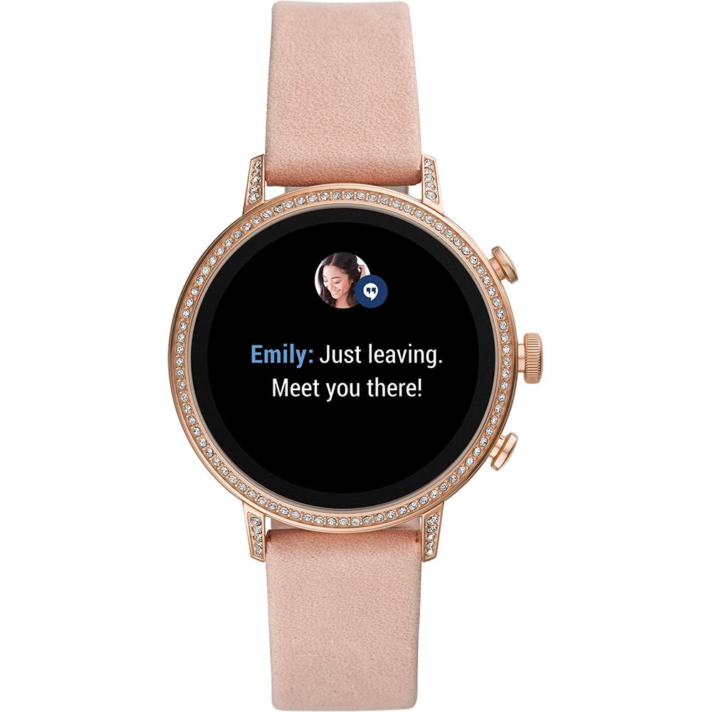 dddadb766d53 Reloj inteligente con pantalla táctil y correa de silicona - Gen4 Coleccion  otoño-Invierno Fossil