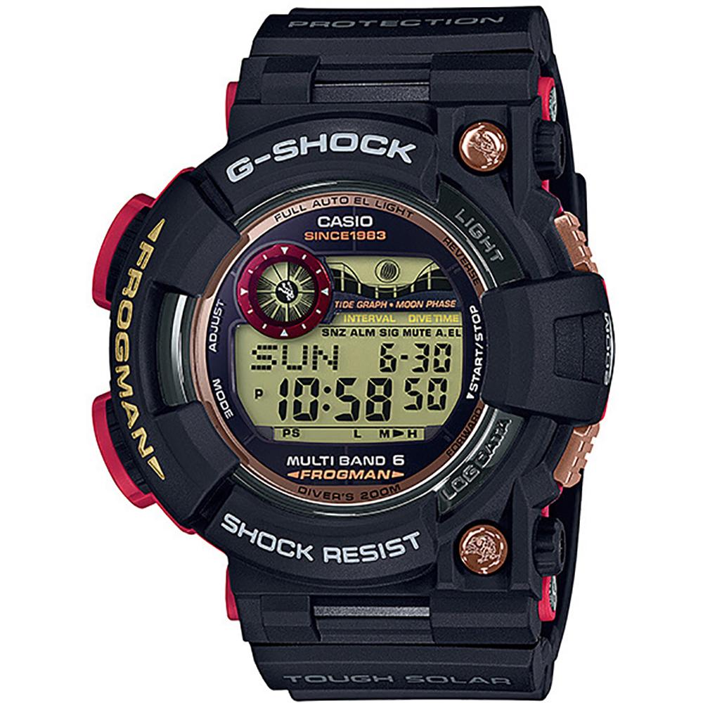 594d708e5cf2 Reloj G-Shock Especial GWF-1035F-1 Frogman 35th anniversary • EAN ...