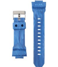 G Lide 29mm Correa de resina azul jaspeado