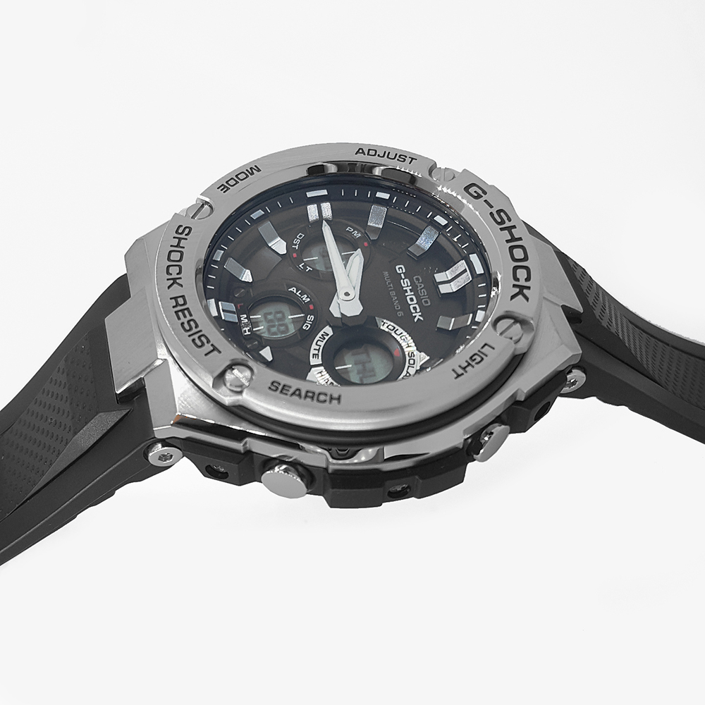 b75cf935e5ce Reloj Solar radio controlado de acero analogico-digital Coleccion  otoño-Invierno G-Shock
