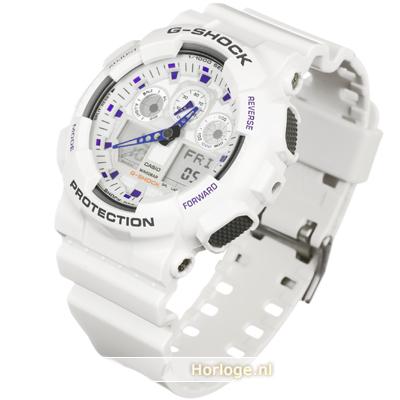 Reloj G Shock Classic Style GA 100A 7AER GA 100A 7A • EAN