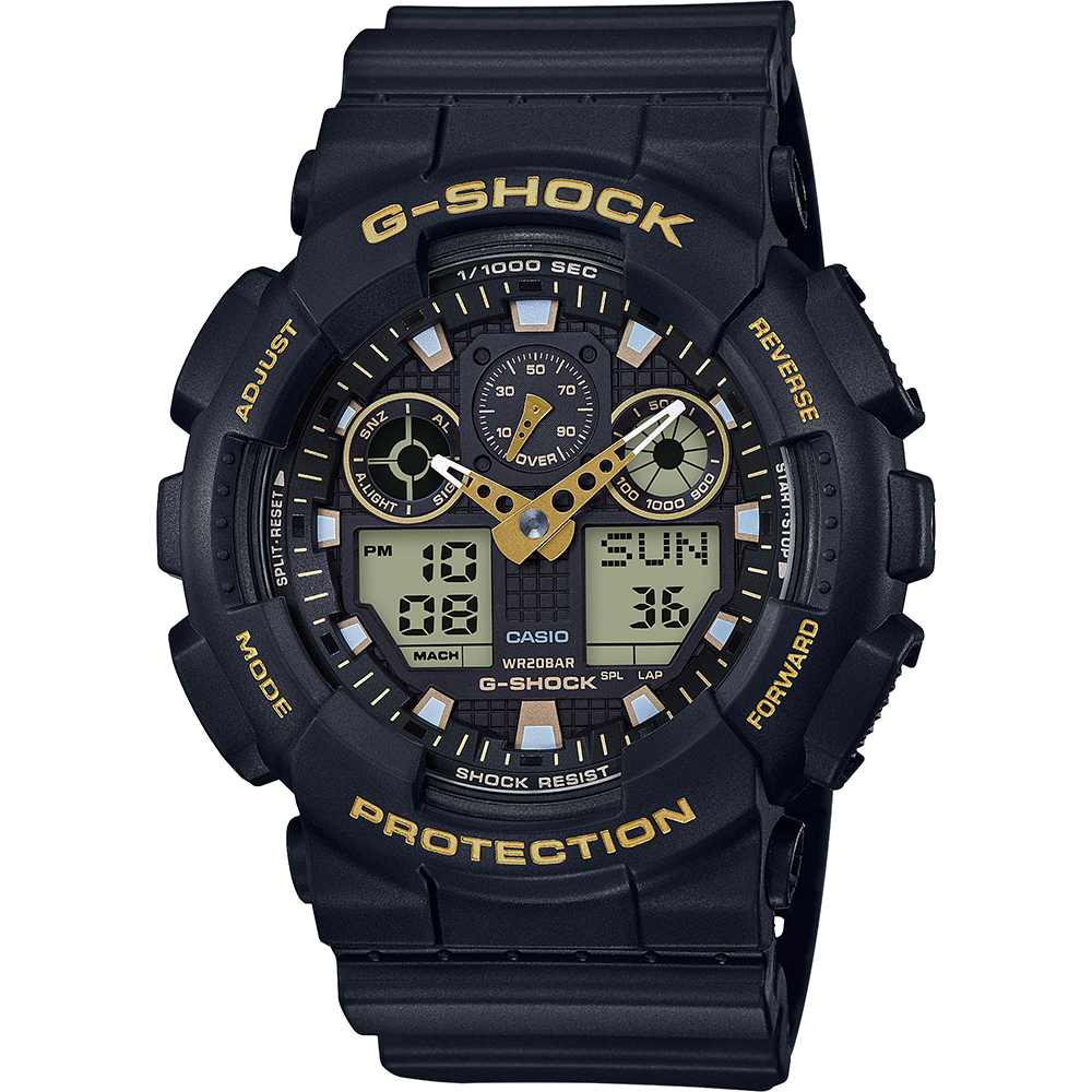Reloj G Shock Classic Style GA 100GBX 1A9ER Garrish Black