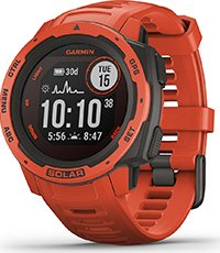 010-02293-20 Instinct Solar Flame red 45mm