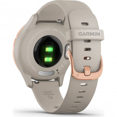 Small hybrid smartwatch with hidden touchscreen Colección Primavera-Verano Garmin