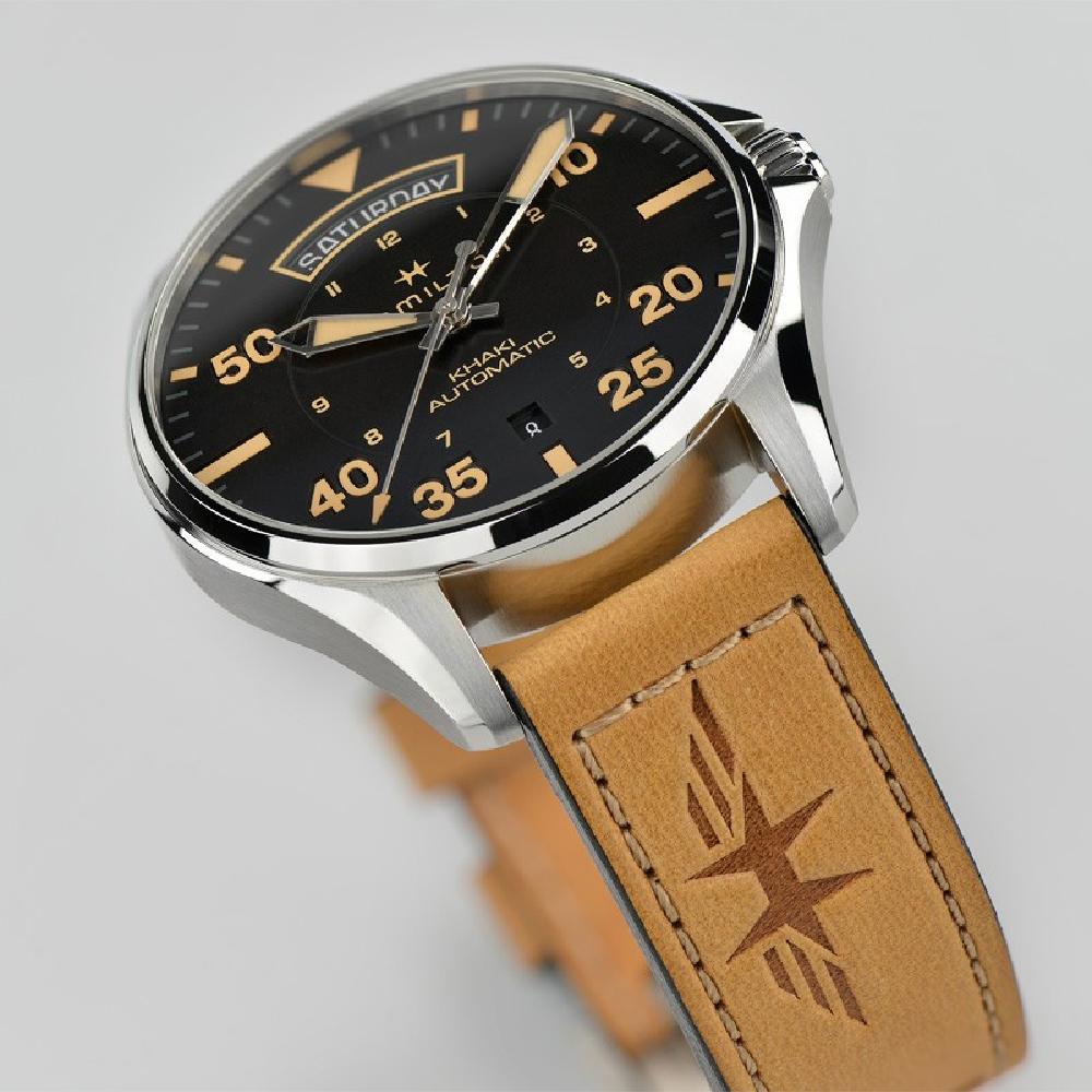 Hamilton Reloj Ean7640167046409 H64645531 Pilot • Khaki 7bfgy6Y