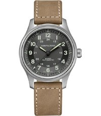 H70545550 Khaki Field Titanium 42mm