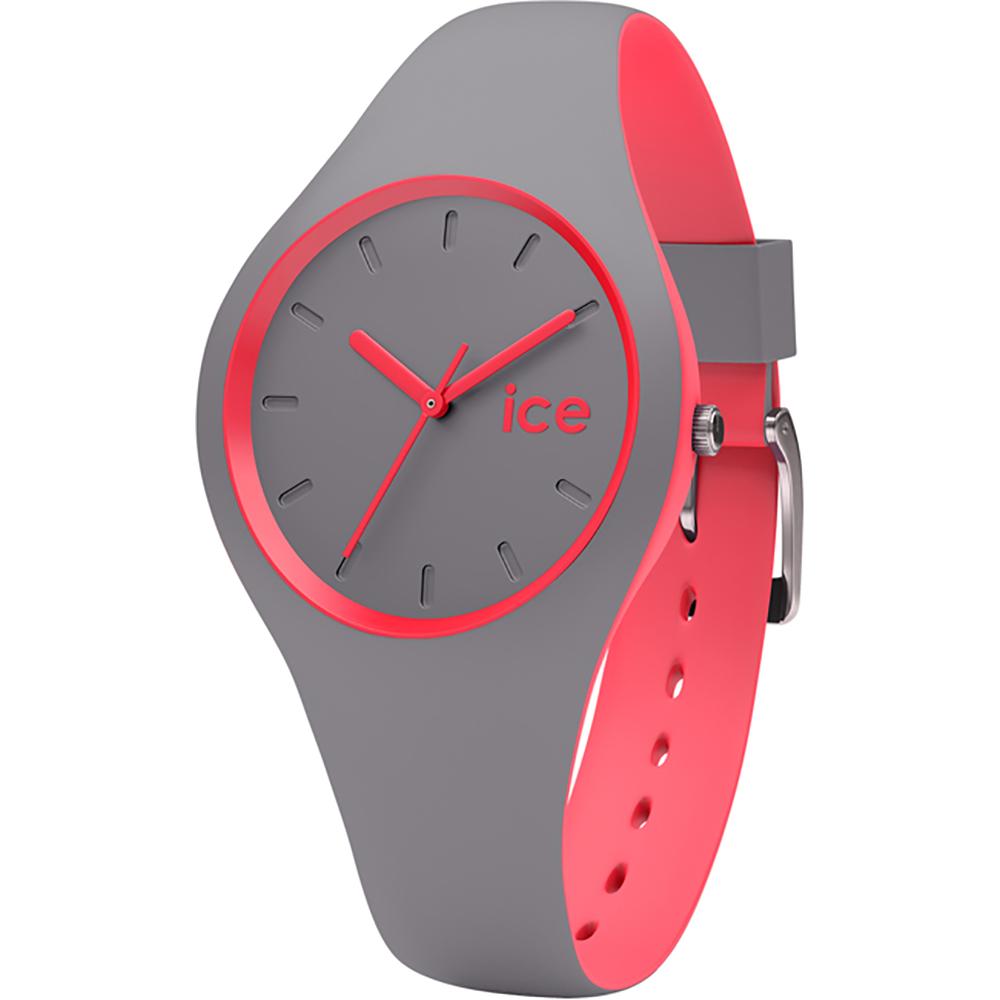 66f38668b0d5 Ice-Watch Reloj 2016 · Ice-Watch Reloj Gris · Reloj Gris Quartz · Reloj de silicona  color gris-rosado tamaño pequeño Colección Primavera-Verano ...