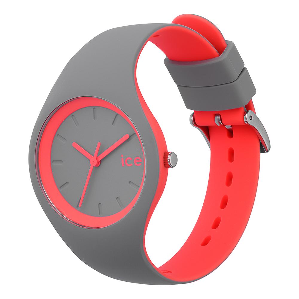 3a932530be52 Ice-Watch Reloj Gris · Reloj Gris Quartz · Reloj de silicona color gris-rosado  tamaño pequeño Colección Primavera-Verano ...