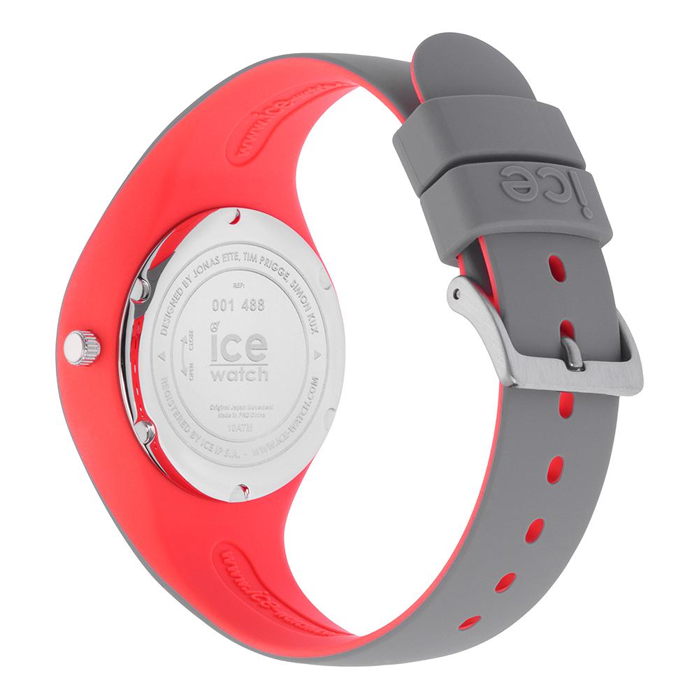 9824ef335a88 Reloj de silicona color gris-rosado tamaño pequeño Colección  Primavera-Verano Ice-Watch