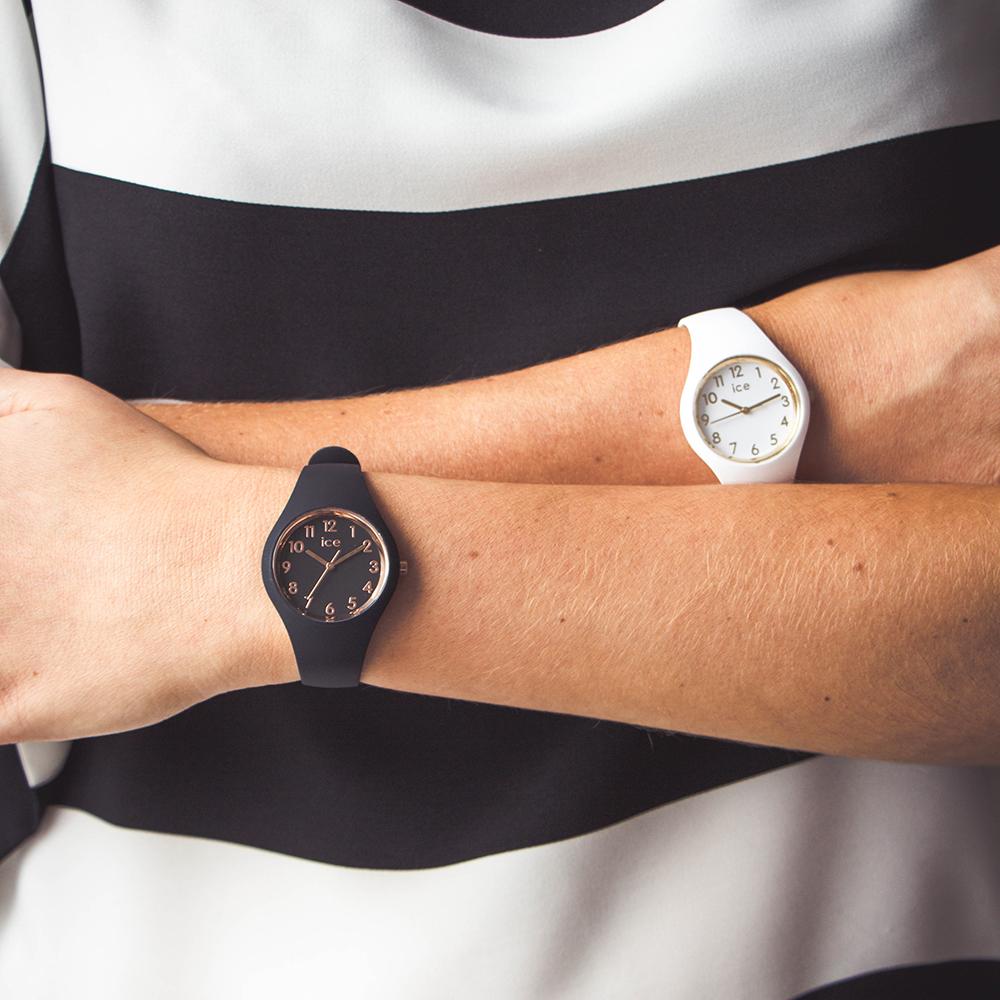 f287a65fa13e Reloj Pequeño color Negro oro rosado Coleccion otoño-Invierno Ice-Watch