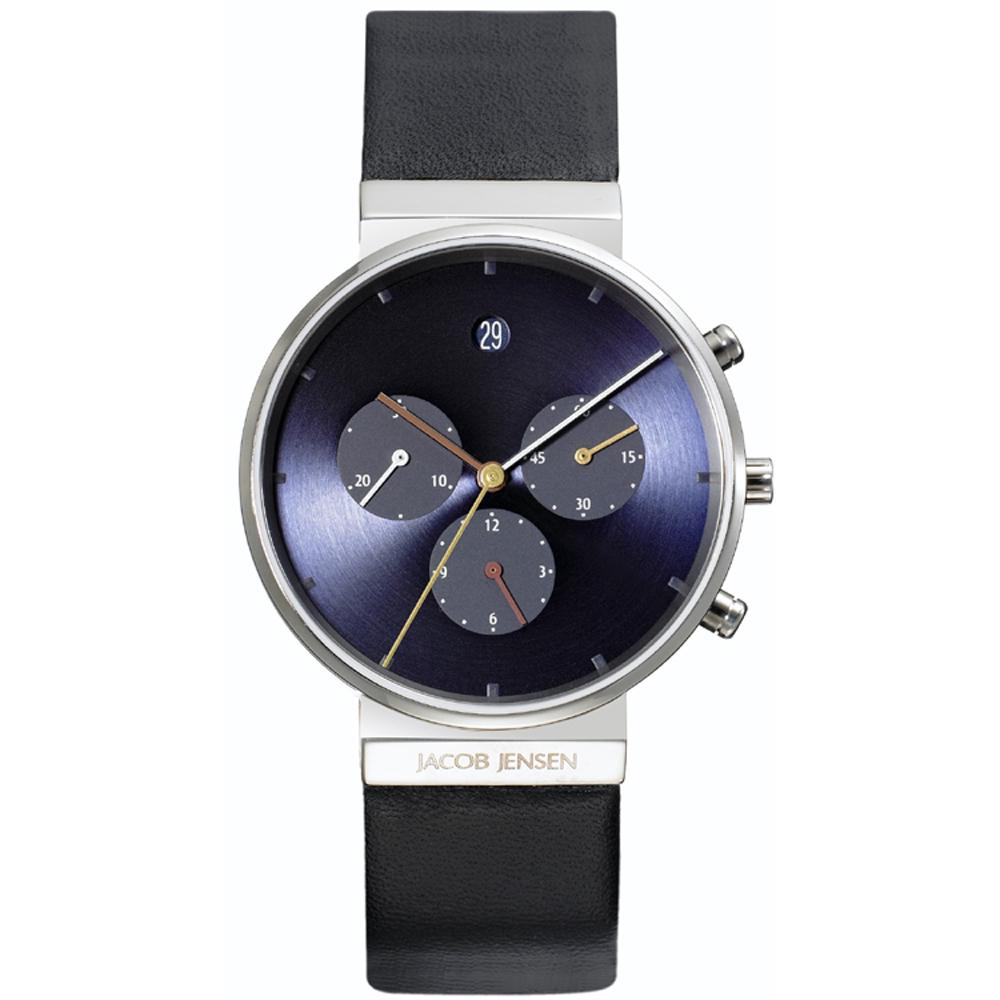 reloj jacob jensen jj605 relojes 605 chronograph. Black Bedroom Furniture Sets. Home Design Ideas