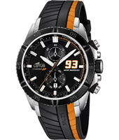 18103/4 Marc Marquez 93 44mm Black & Orange Motorsports Chronograph