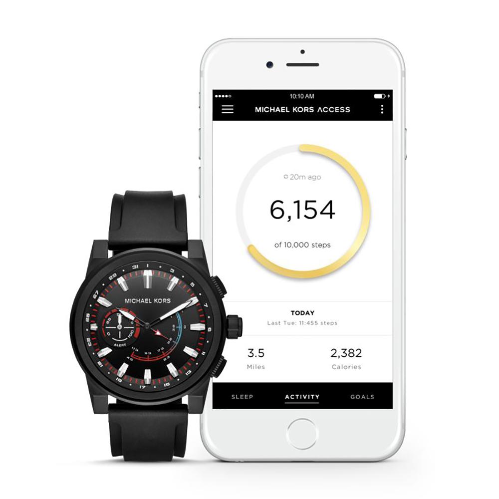 7eb5f90a4e34bf Reloj Michael Kors MKT4010 Grayson Hybrid • EAN: 4053858909199 ...
