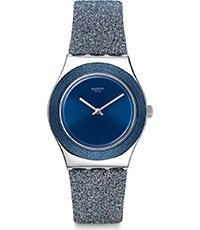 YLS221 Blue Sparkle 33mm