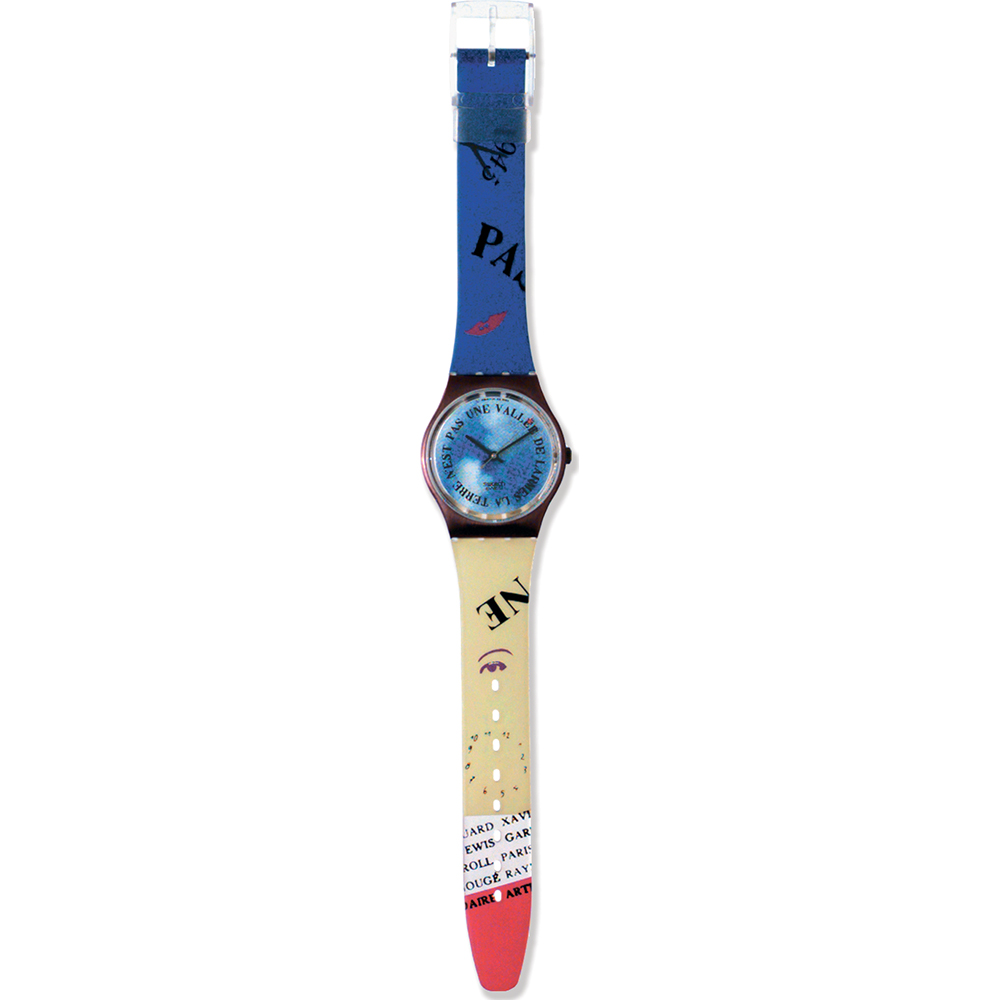 Monsieur Reloj Ean7610522004221 Gx112 Croque • Swatch Originales Y7f6Ibyvg