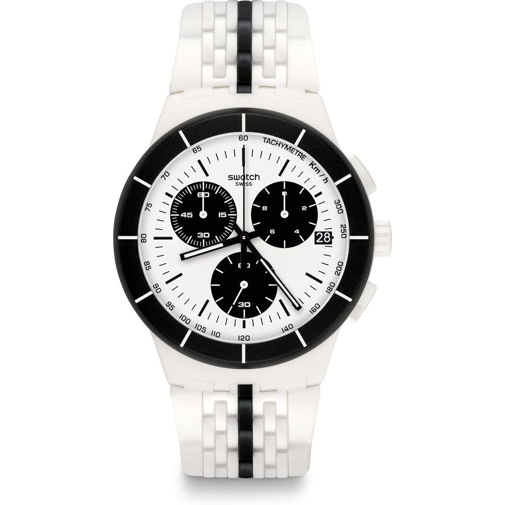 Reloj Originales Swatch Susw407 Piste • Ean7610522750241 Noire UVzqSpM