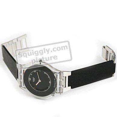 Pure Reloj Sfk116 • Swatch Ean7610522175532 es Reloj Skin Black 5RL3j4A