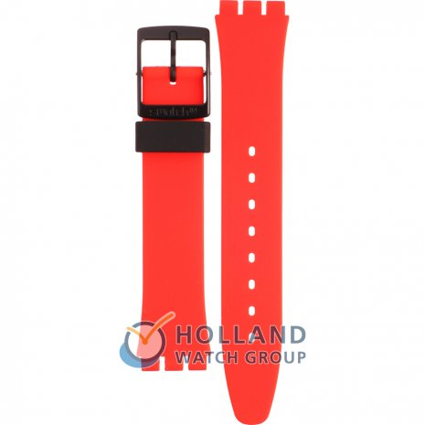 Swatch GB754 Red Grin Correa