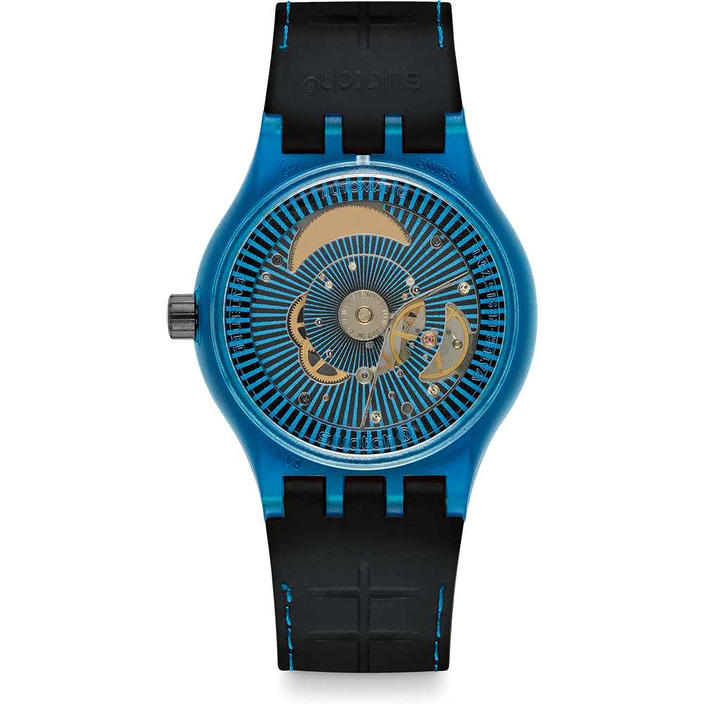 Sistem Suts401 Reloj Originales Blue Swatch • Ean7610522133136 ZiOPXukT