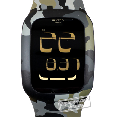 Camouflage • Ean7610522202702 Touch Surb105 Reloj Reloj Swatch es dBeWExQrCo