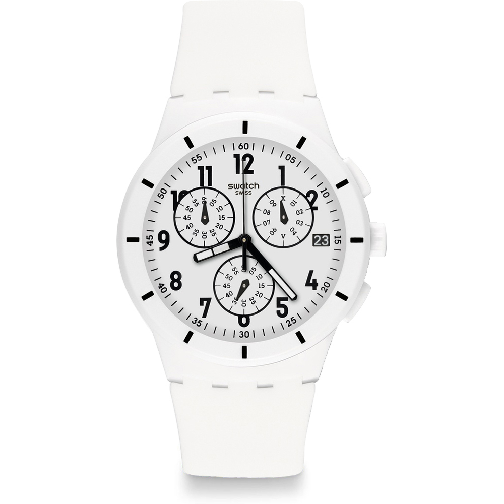 • Swatch Ean White Originales Twice Susw402 Again Reloj cJTlKF31
