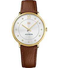 Dorado Para Correa Sloane Con Mujer De Piel 40mm Reloj kwOiuPTXZ