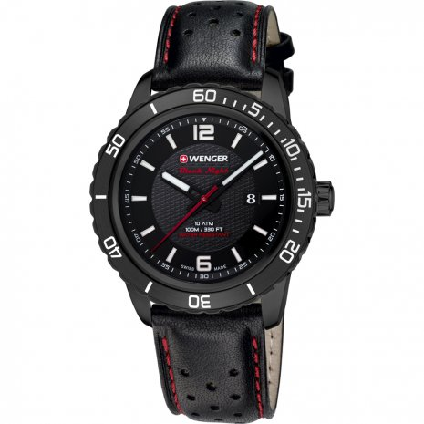 Wenger Roadster Black Night Reloj